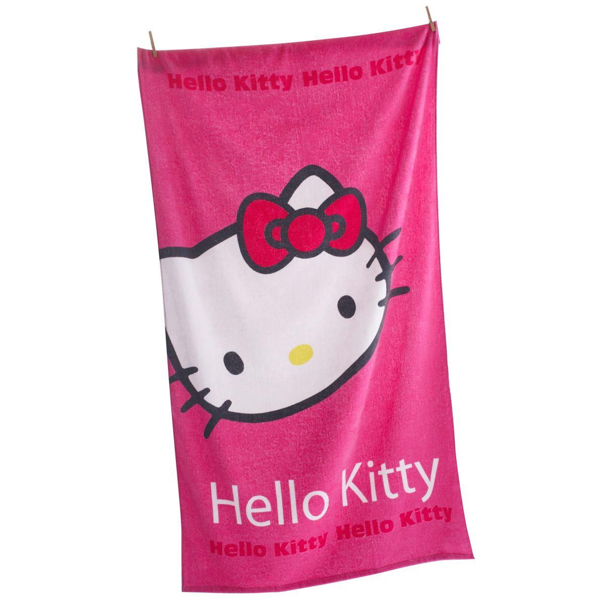 serviettes de plage hello kitty roxy playboy ralph lauren et draps de plage maillot de bain. Black Bedroom Furniture Sets. Home Design Ideas